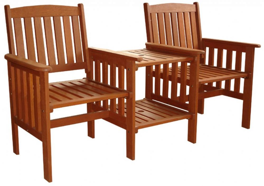 Pagoda Buckingham Wooden Companion Garden Furniture Set